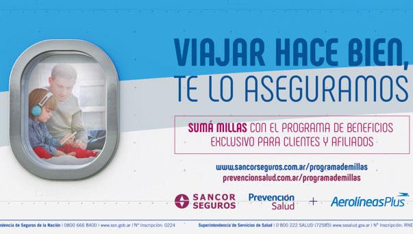 Pusimos en marcha un programa para sumar Millas con Aerolíneas Argentinas